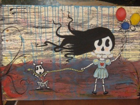 Esmerelda's Day At The Park-SOLD