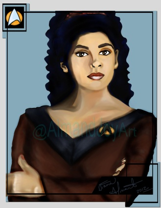 Deanna Troi Fan Art