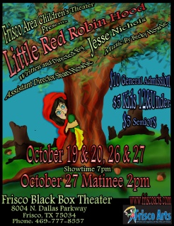 Little Red Robin Hood Flyer For Jesse Nichols